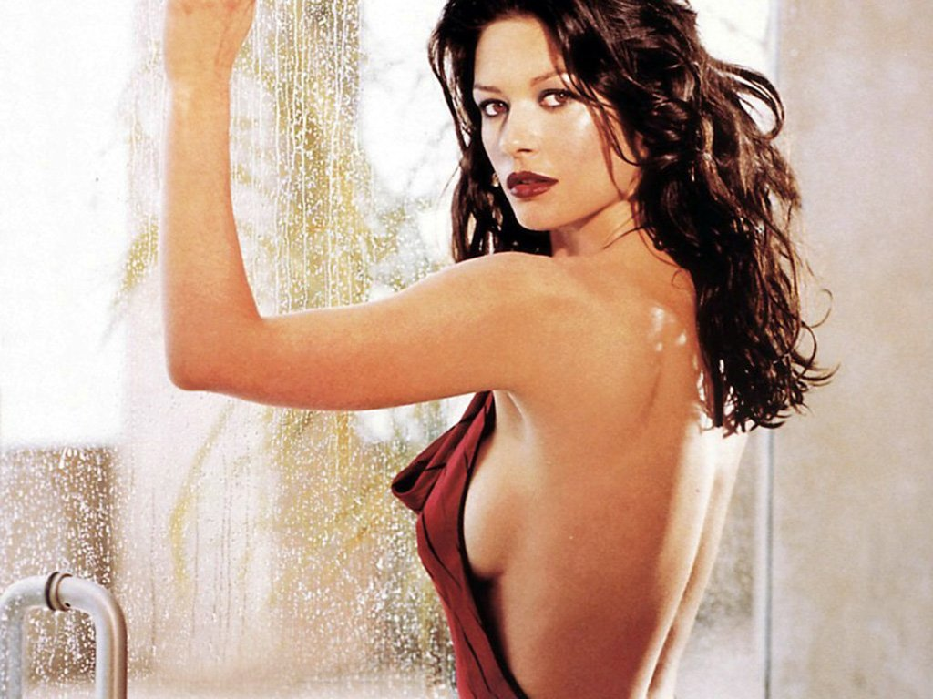 catherinezetaJones wall