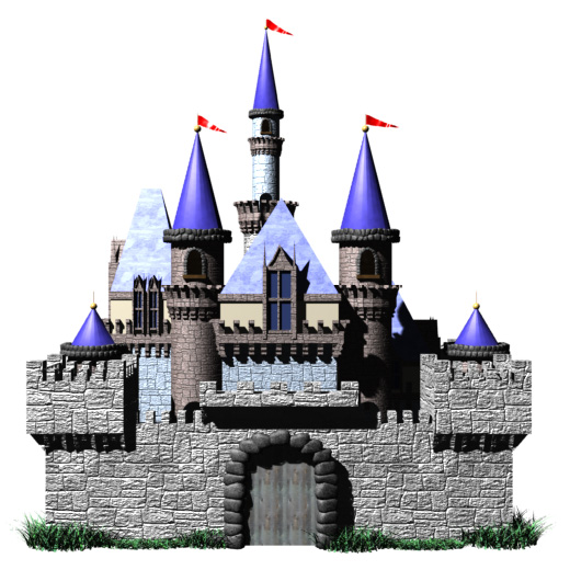 castle with pennants hr