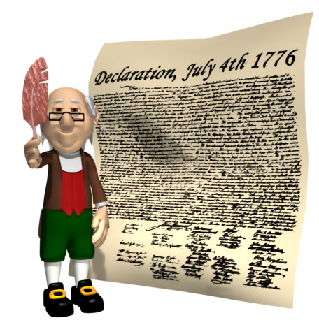 ben franklin feather declaration hr