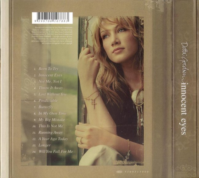 Delta Goodrem - Innocent Eyes (Back)