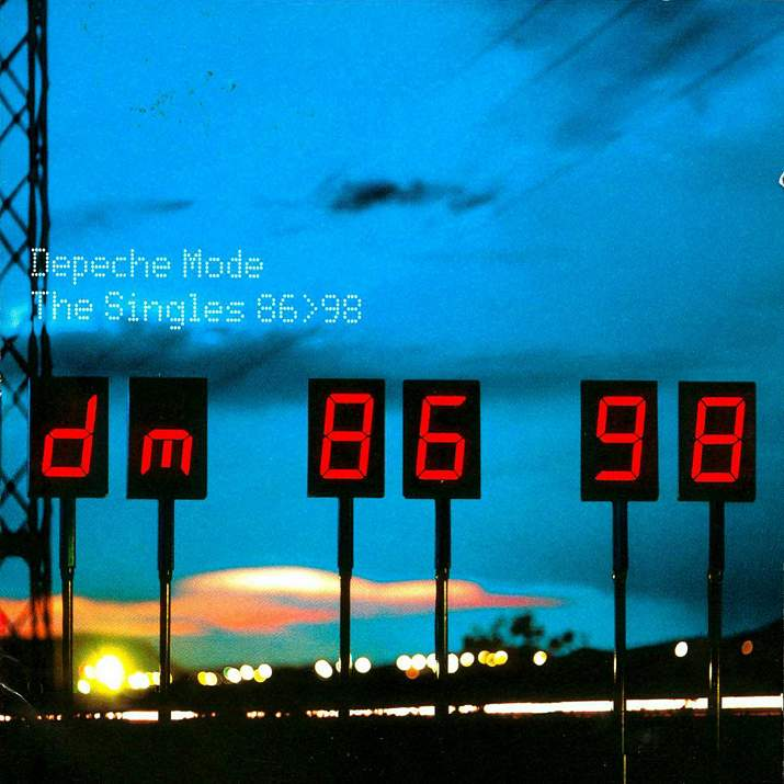 Depeche Mode - The singles 86-98 front