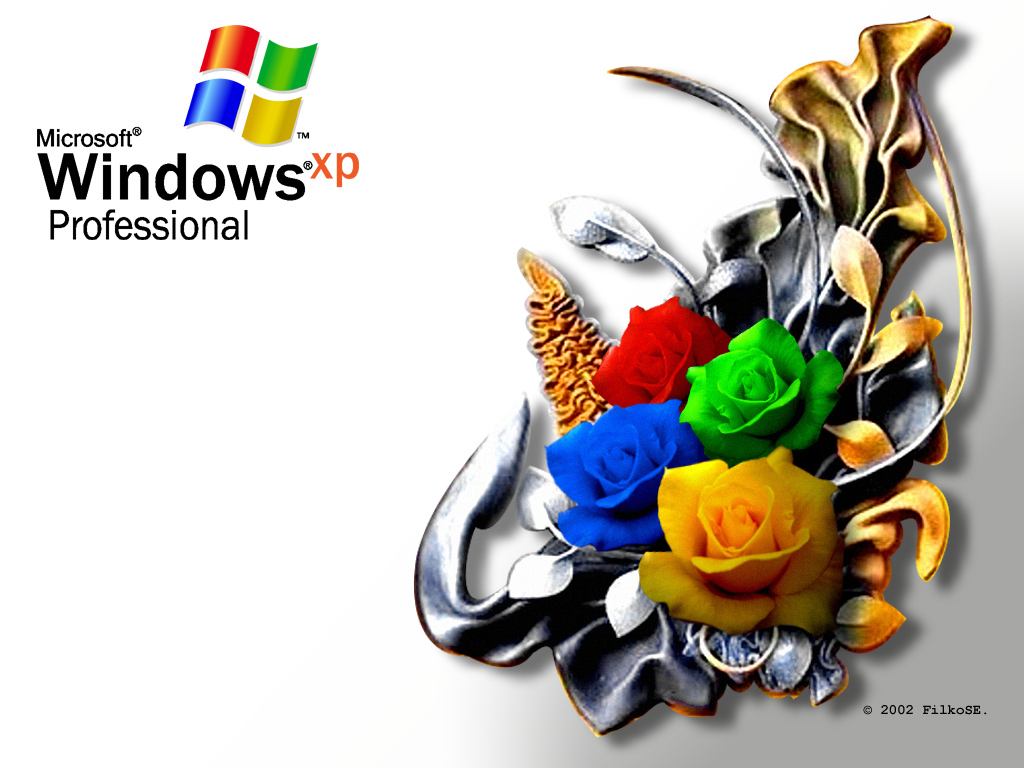 Windows-Crazy Roses Original